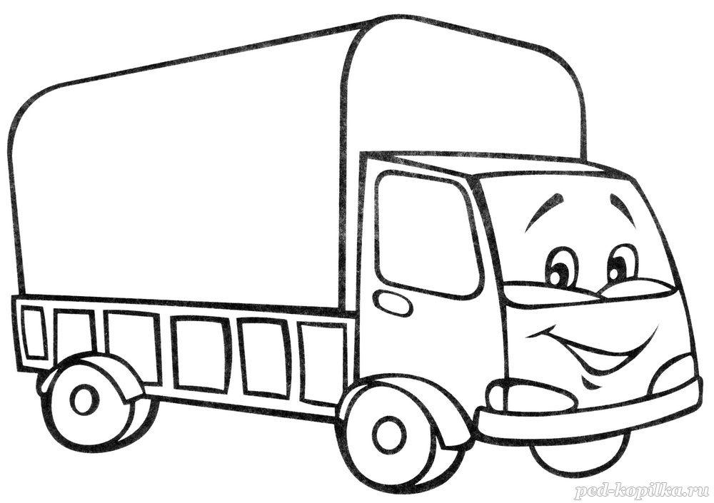 Картинки для раскрасок транспорт 113