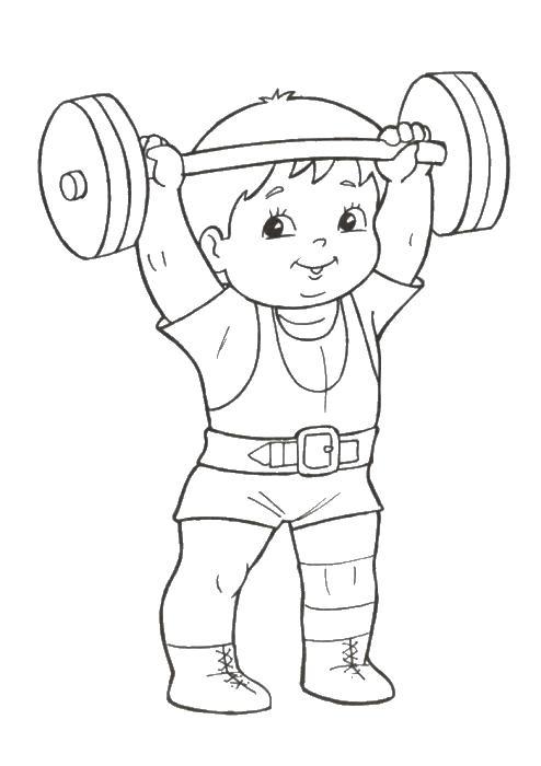 На этой странице вы найдете раскраски для детей спортивные, которые абсолютно бесплатно вы сможете скачать и