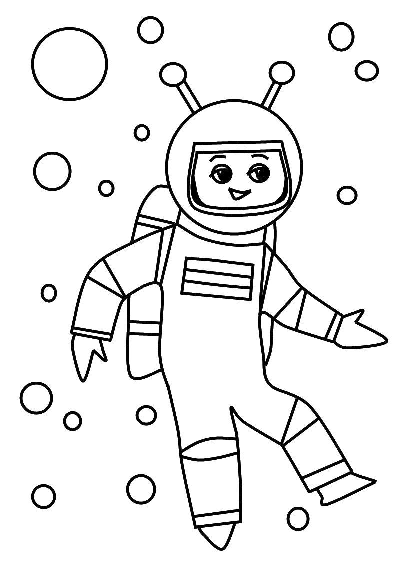 Раскраски полеты в космос