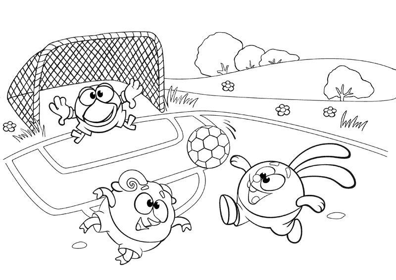 Рисунки детские про футбол