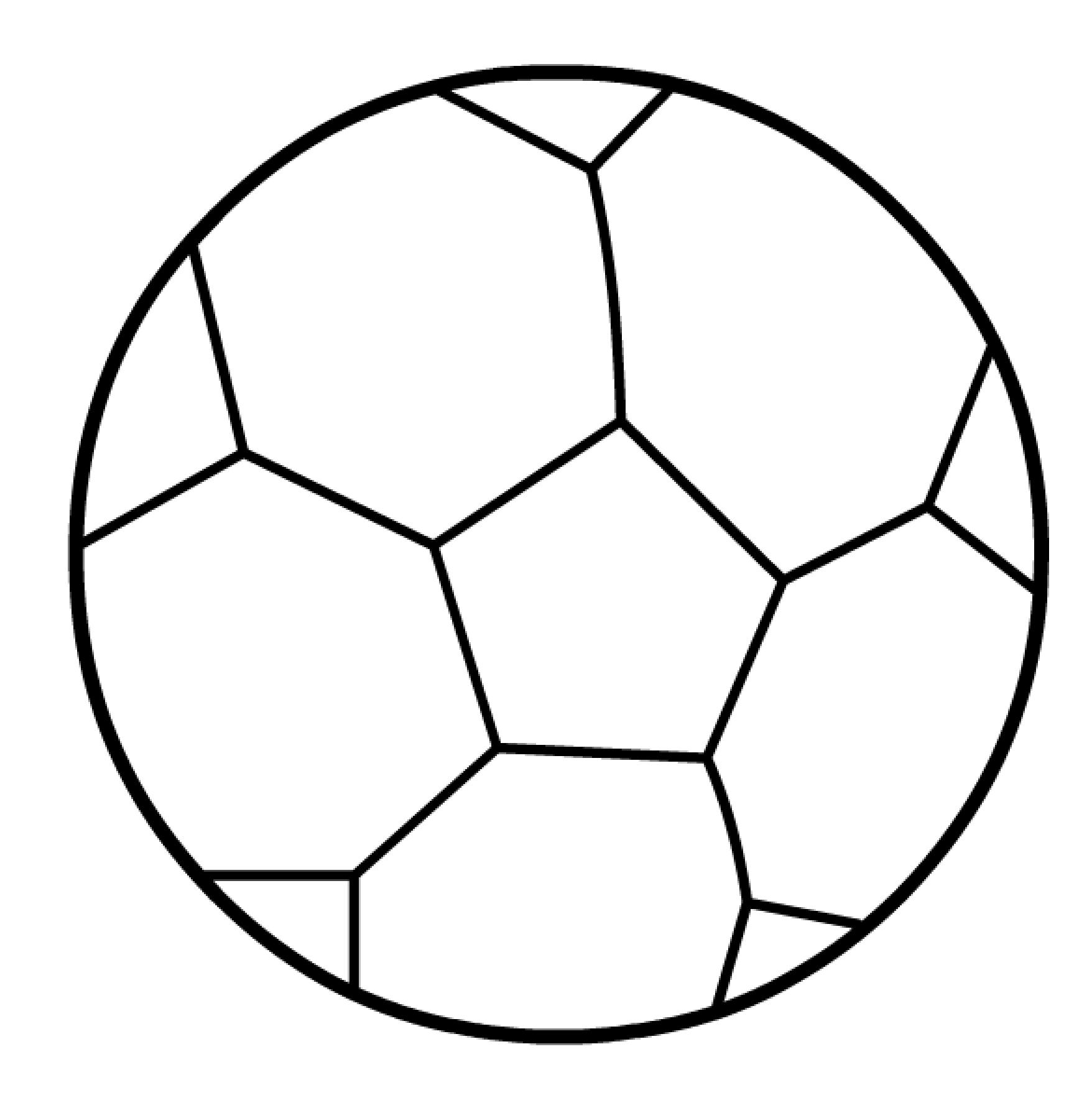 Раскраска для мальчиков футболист