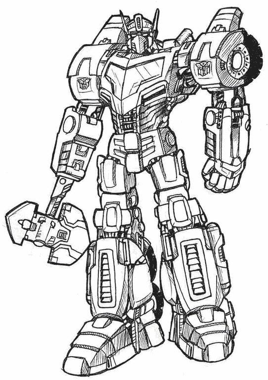 Роботы роботы раскраски Раскраски для мальчиков бесплатно