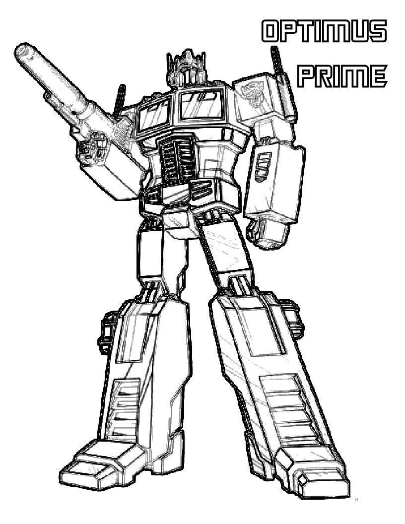 Трансформер оптимус прайм optimus prime трансформеры ... Раскраски для Мальчиков Трансформеры Оптимус