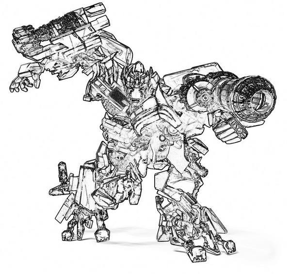 Трансформеры раскраски и игры