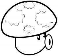 Зомби-гриб Распечатать раскраски для мальчиков