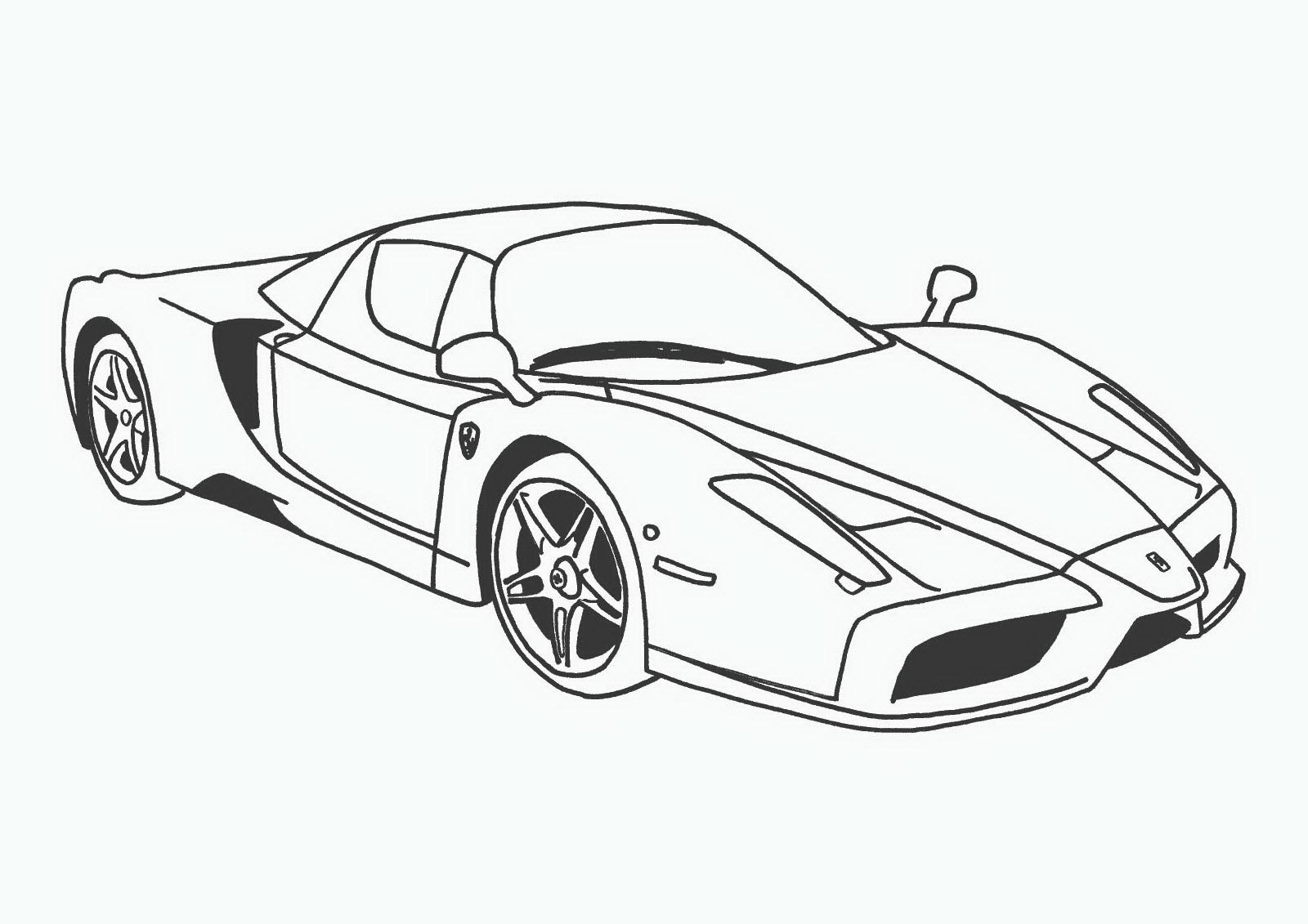спортивные машины раскрашивать раскраски для мальчиков