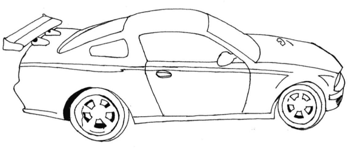 форд мустанг спортивный спортивное авто мустанг раскраски