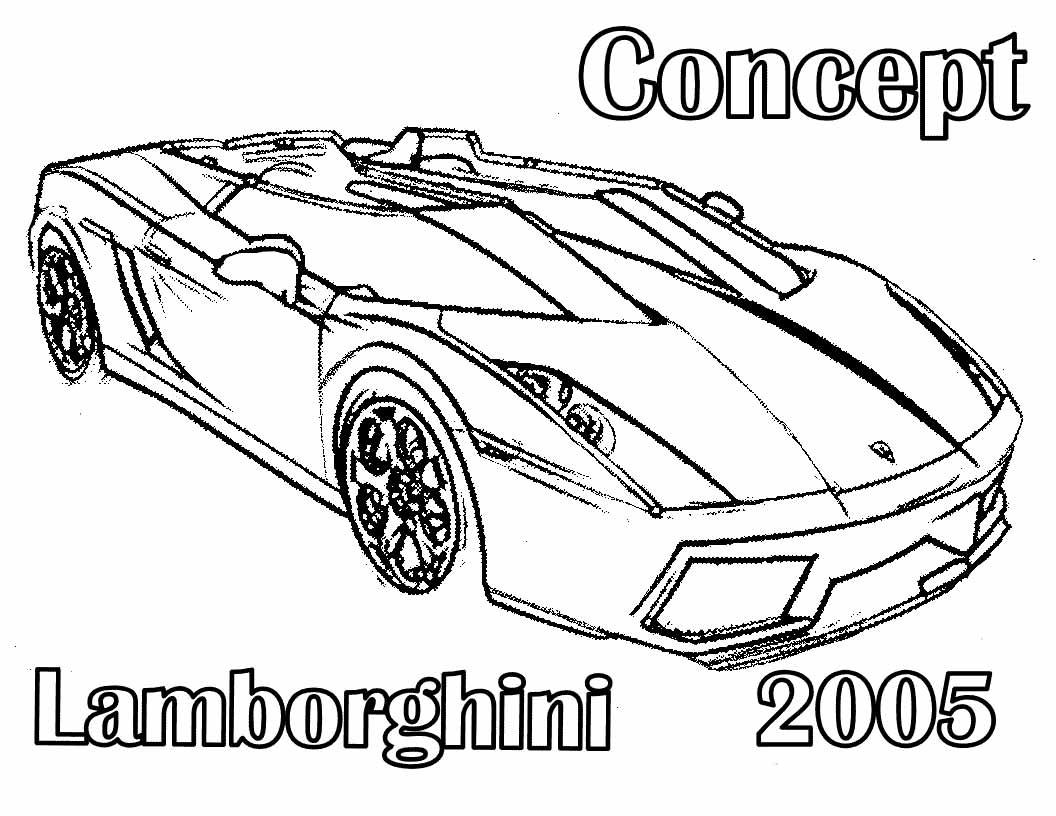 как напечатать машину ламборджини