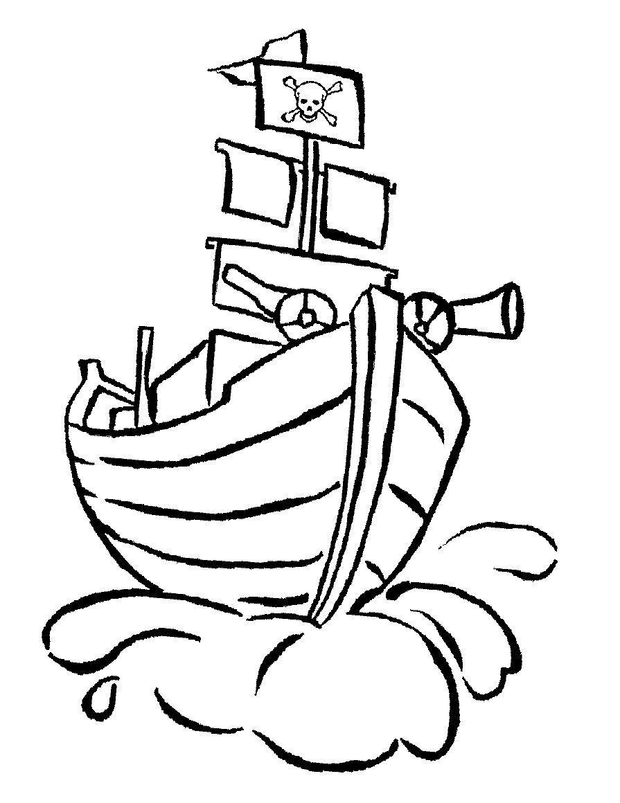 Пушка на корабле Раскрашивать раскраски для мальчиков