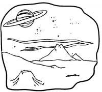 Планета и сатурн Скачать раскраски для мальчиков