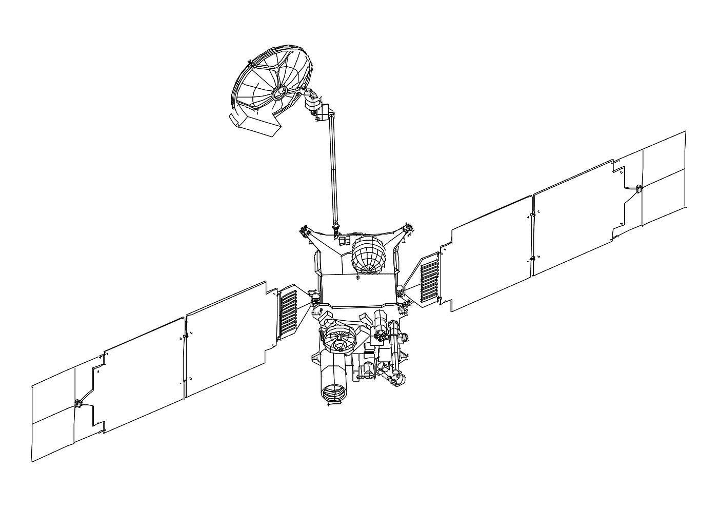 Спутник космический Раскрашивать раскраски для мальчиков