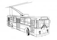 Трамвай Скачать раскраски для мальчиков