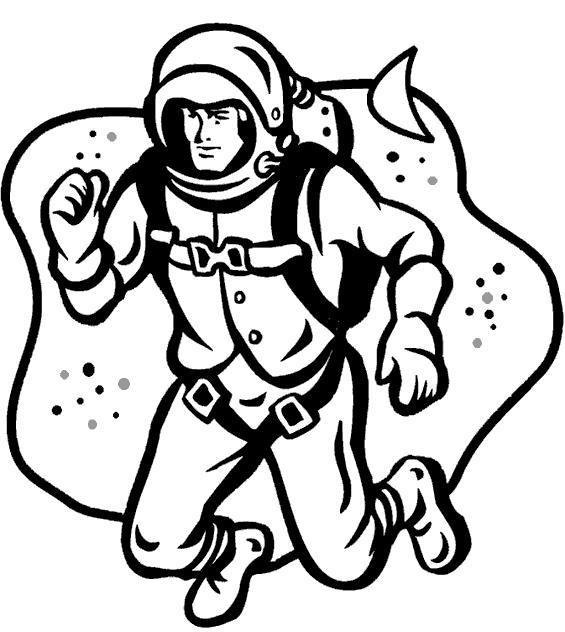 День космонавтики гагарин в космосе Раскрашивать раскраски для мальчиков