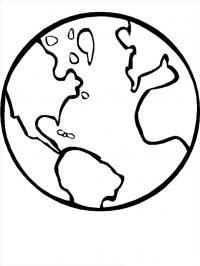 Планета земля Распечатать раскраски для мальчиков