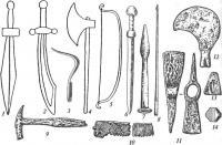 Мечи и разное оружие Раскраски для мальчиков
