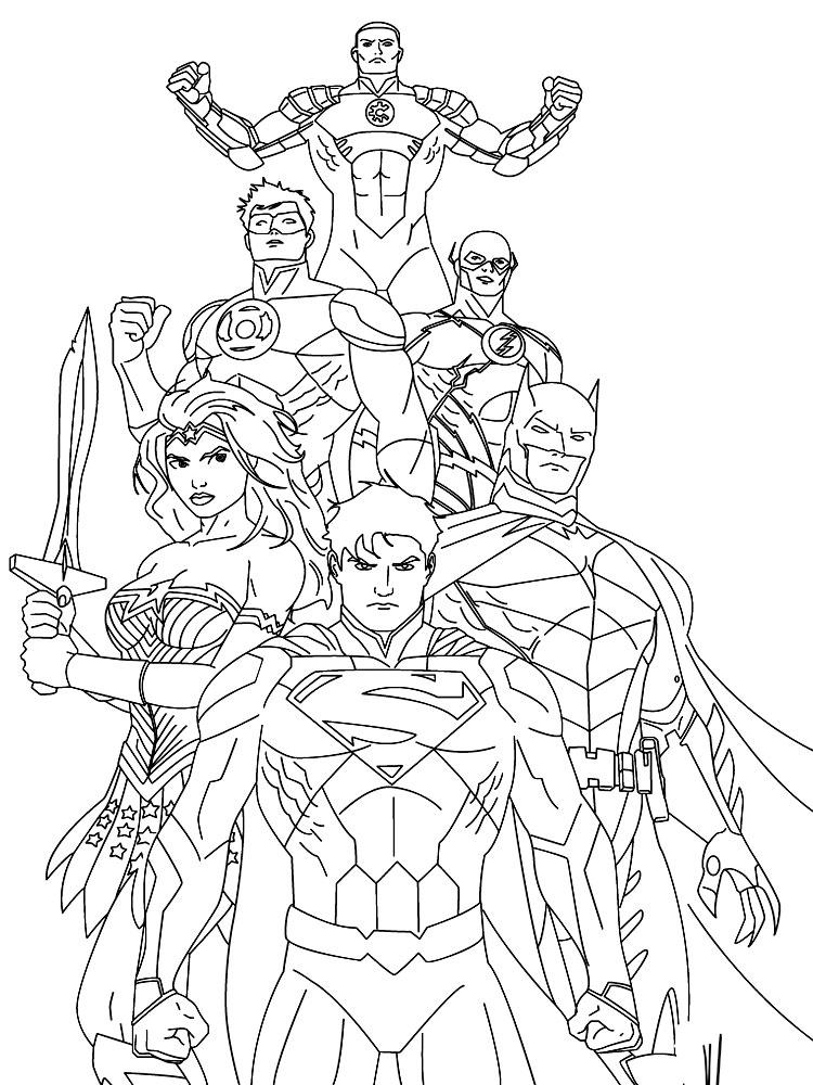 Супермен рисунок