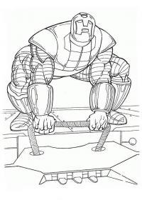 Железный человек Раскраски для мальчиков
