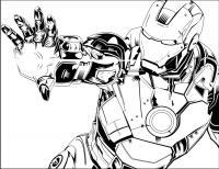 Железный человек, комикс Раскраски для мальчиков