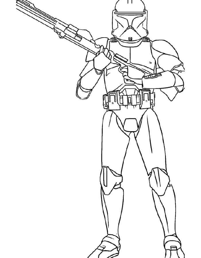 Звездные воины Раскраски для детей мальчиков