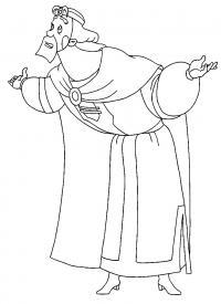 Князь из сказки три богатыря Скачать раскраски для мальчиков