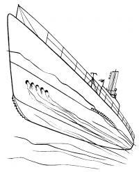 Быстрый корабль Скачать раскраски для мальчиков