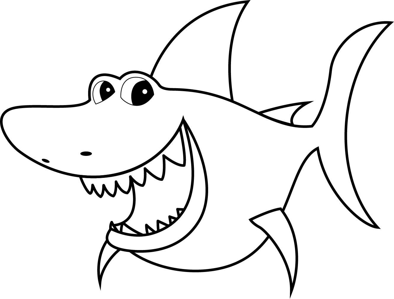 акула картинки раскраски раскраска акула для детей