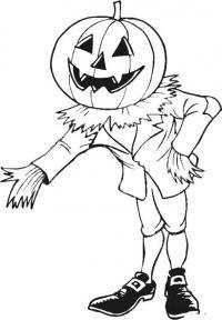 Ужасы, хэллоуин Раскраски для мальчиков