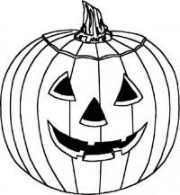 Тыква на хэллоуин Раскраски для мальчиков