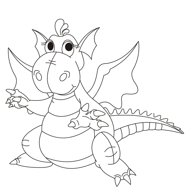Раскраски к новому году дракона
