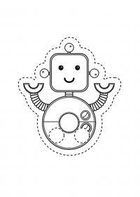 Робот Раскраски для мальчиков