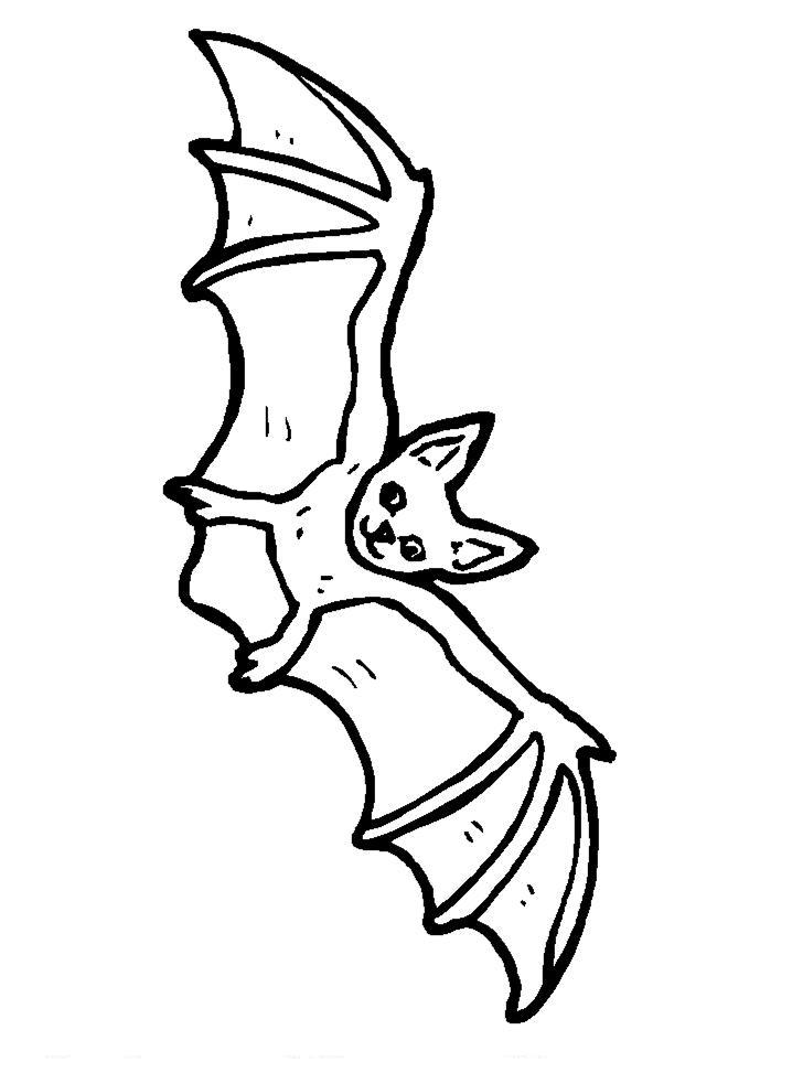 Летучая мыши раскраска