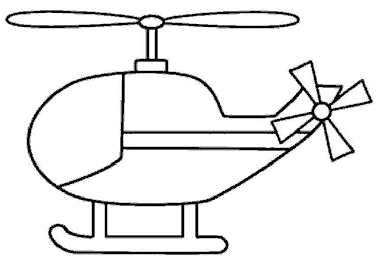 Вертолетик Раскраски для мальчиков