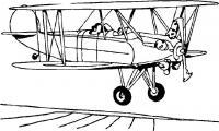 Первые самолеты Раскрашивать раскраски для мальчиков