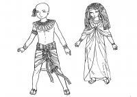 Дети фараона Раскраски для мальчиков бесплатно