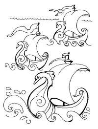 Красивые корабли Раскраски для мальчиков