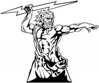 Боги греции Раскраски для мальчиков