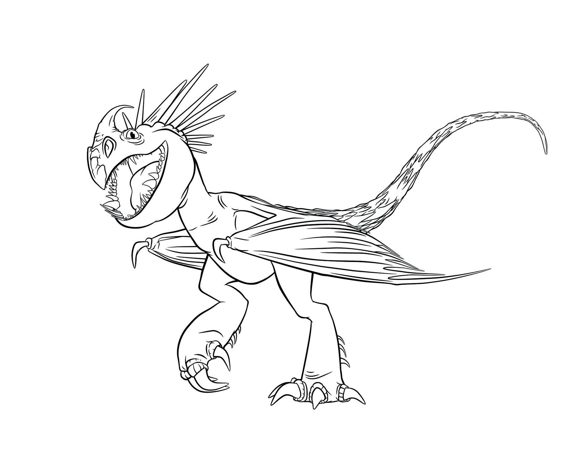 Крылатый дракон Раскраски для детей мальчиков