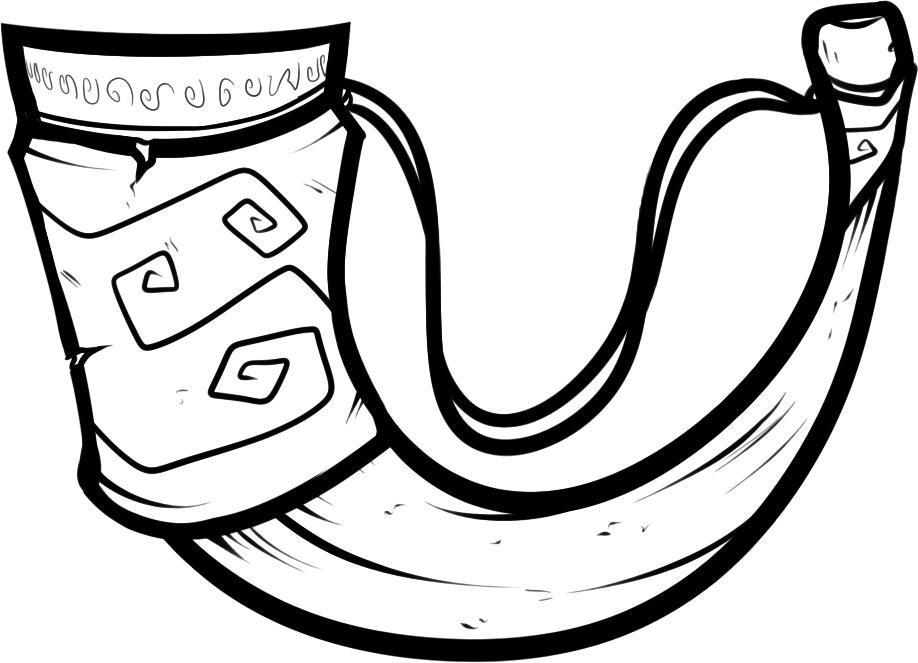 Викинги, рог Раскраски для мальчиков бесплатно
