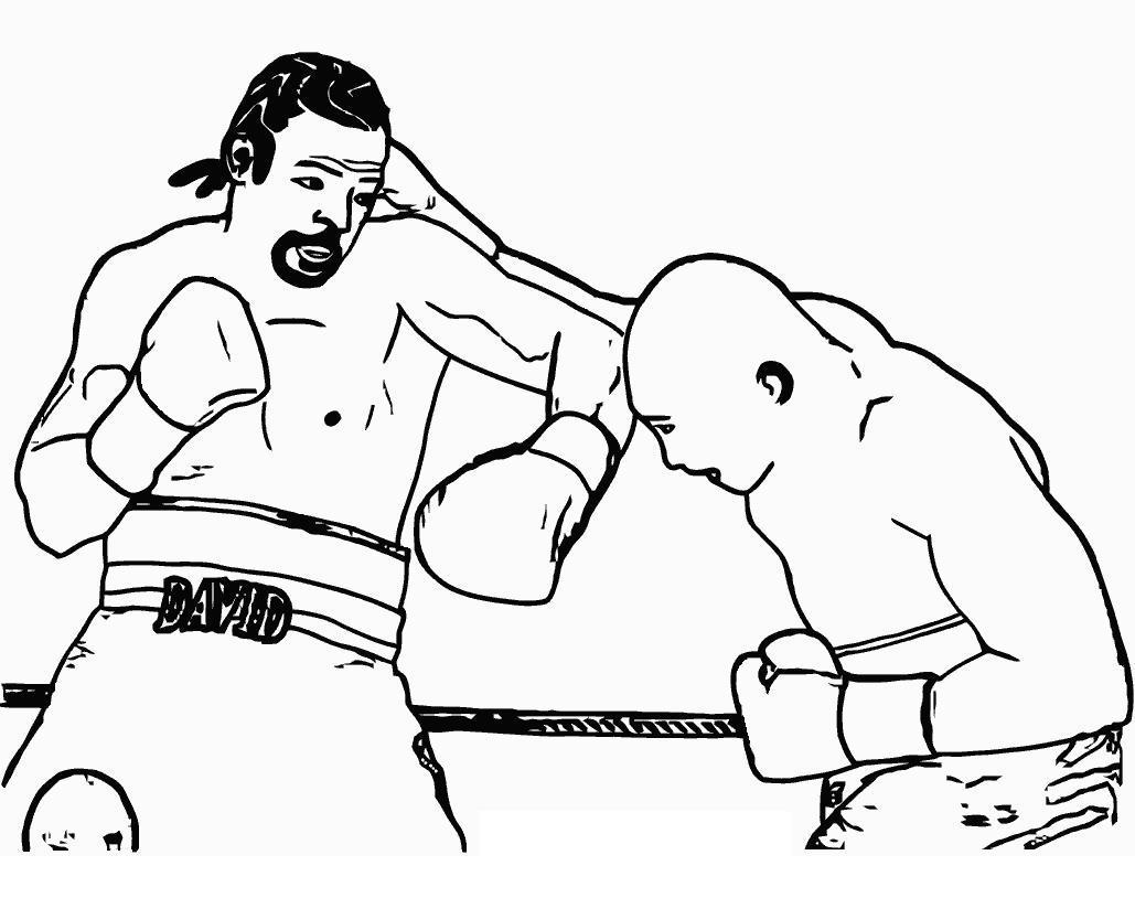 Бокс Распечатать раскраски для мальчиков