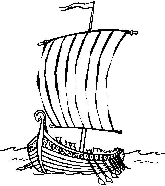 Как приручить дракона, корабль Скачать раскраски для мальчиков