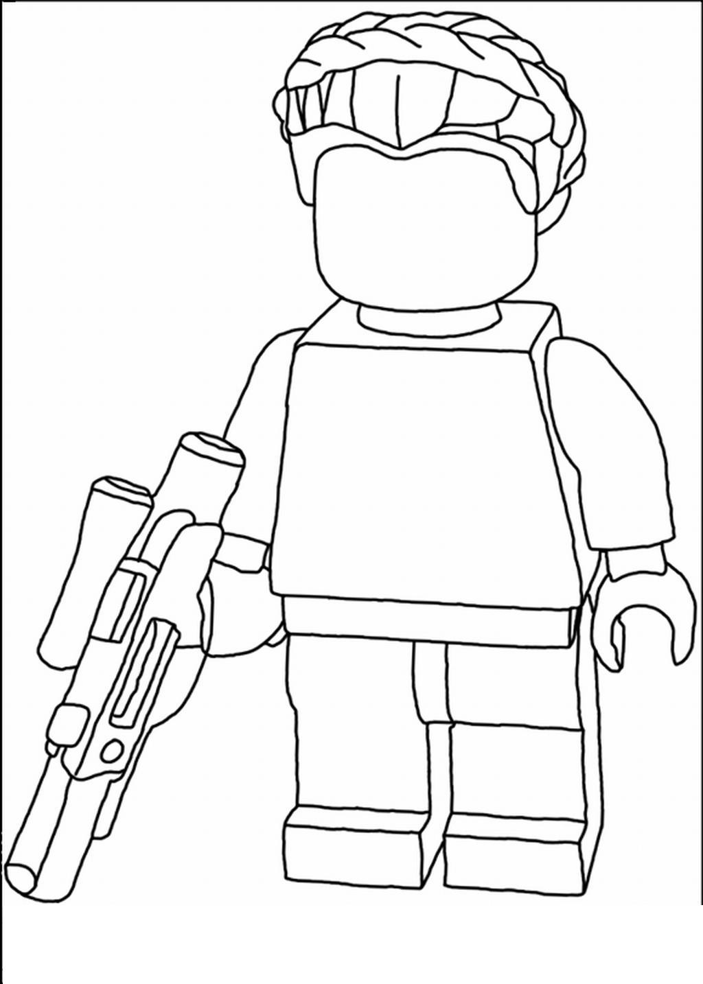 Лего робот Раскраски для детей мальчиков