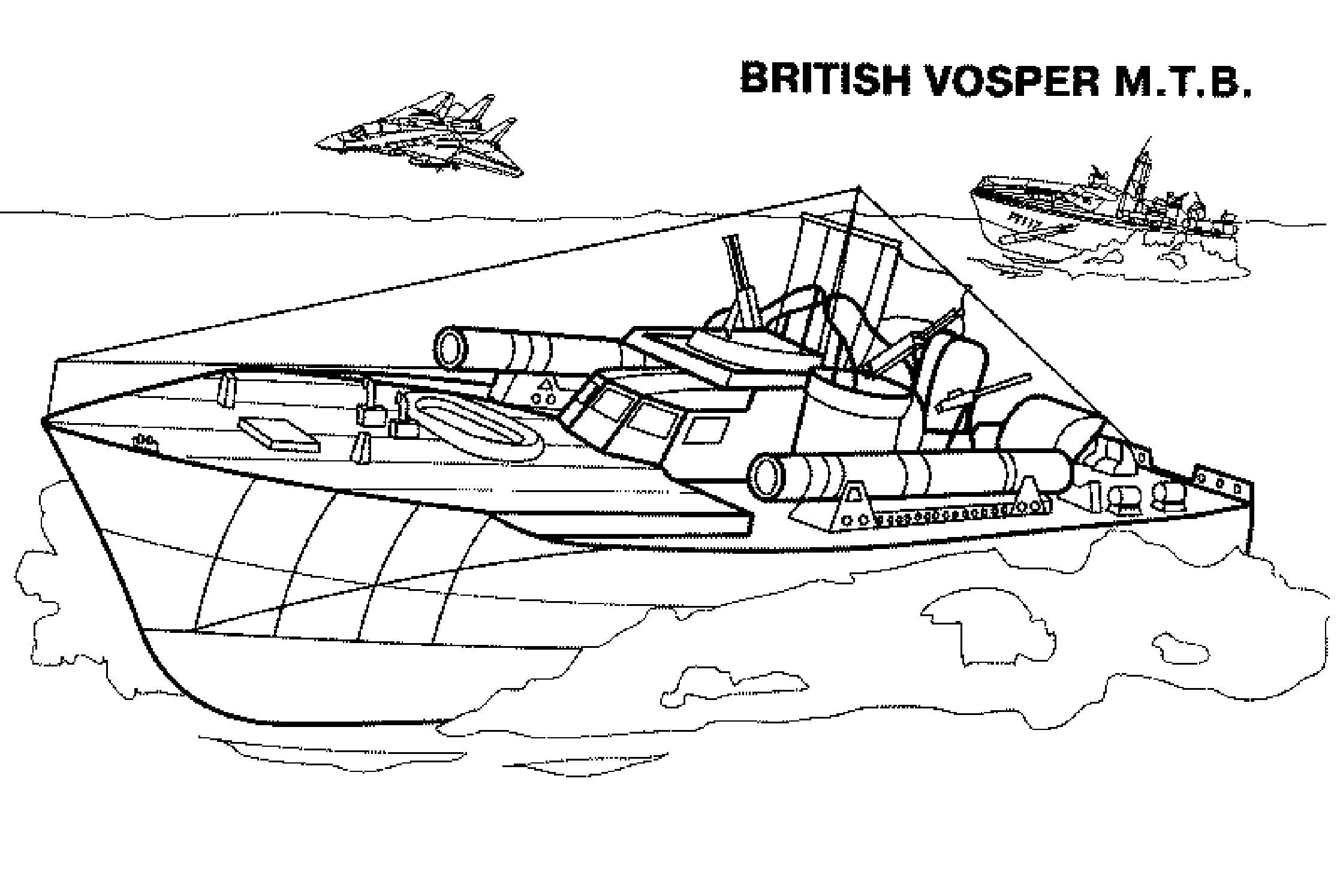корабль военный корабль пароход вода океан раскраски для