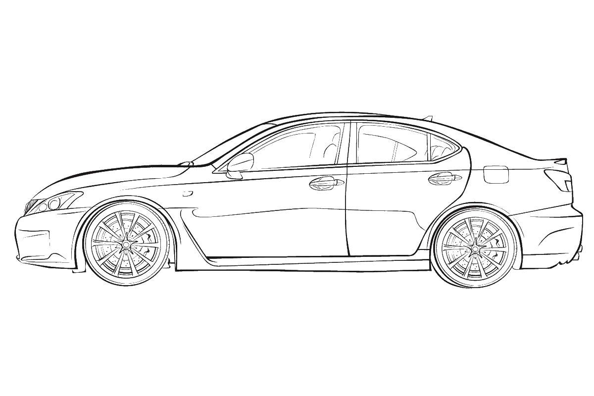 Раскраска виды машин