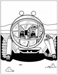 Космические корабль исследователь Распечатать раскраски для мальчиков