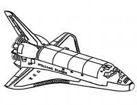 Космический шаттл Распечатать раскраски для мальчиков