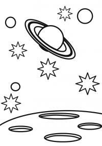 Космос и планеты Раскрашивать раскраски для мальчиков