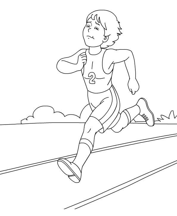 Картинки про спорт карандашом