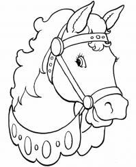Лошадь раскраска Раскрашивать раскраски для мальчиков
