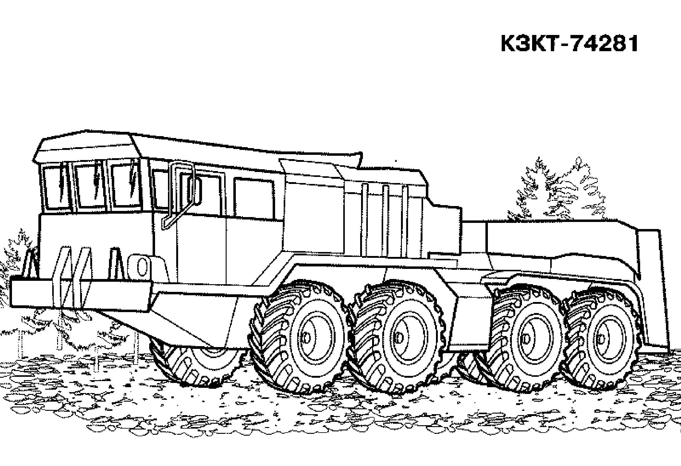 Комплекс брдм-2 военная техника лес Распечатать раскраски ...