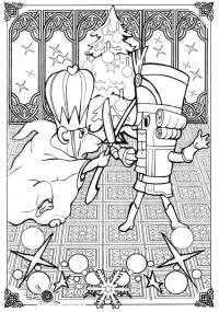Щелкунчик и крыса король Раскраски для мальчиков